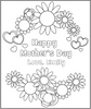 Mother's Day Coloring Page - frecklebox