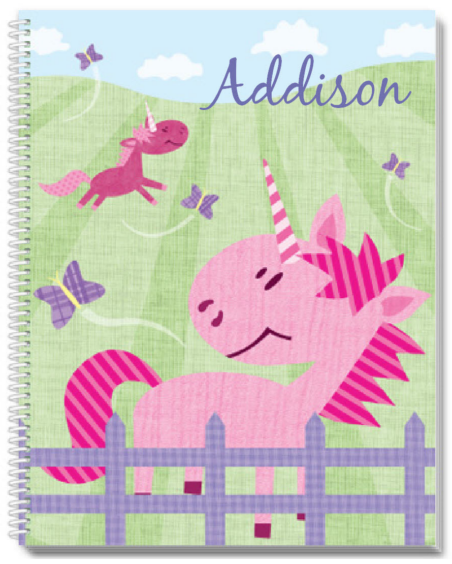 Pink Pastures Sketchbook - frecklebox