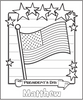 Presidents Day Coloring Page - frecklebox