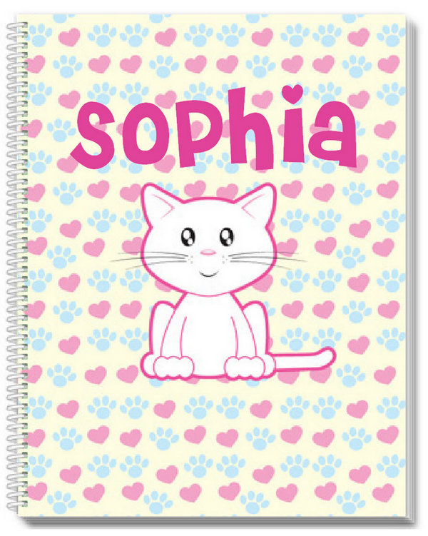 Cute Kitty Sketchbook - frecklebox