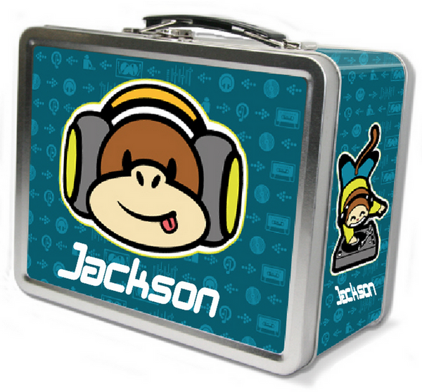 Funky Monkey Lunch Box - frecklebox