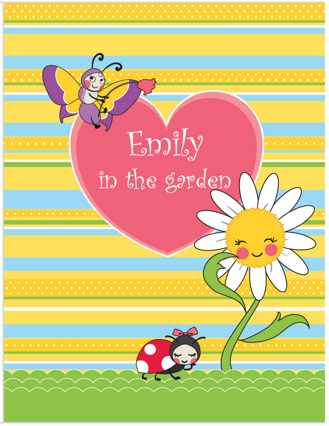 Garden Party Activity Book - frecklebox