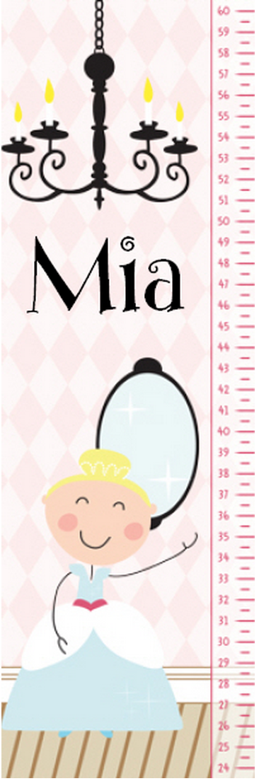 Glam Princess Growth Chart - frecklebox