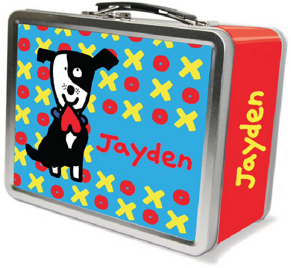Valentine Dog Lunchbox - frecklebox