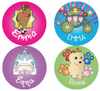 Princess Wishes Personalized Stickers - frecklebox