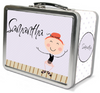 Red Hair Tap Dancer Lunch Box - frecklebox