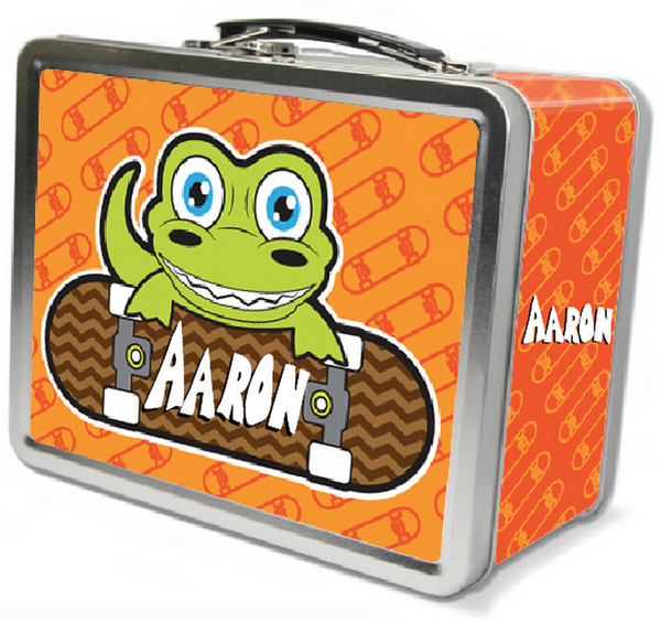 Skater Gator Lunch Box - frecklebox