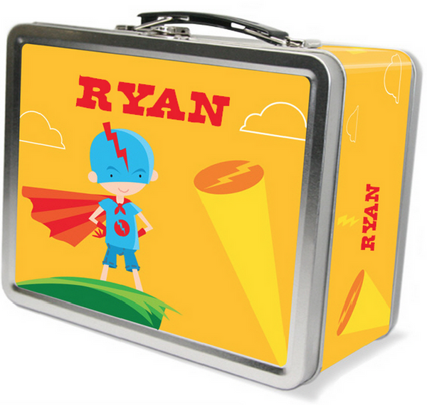Super Hero Lunchbox - frecklebox