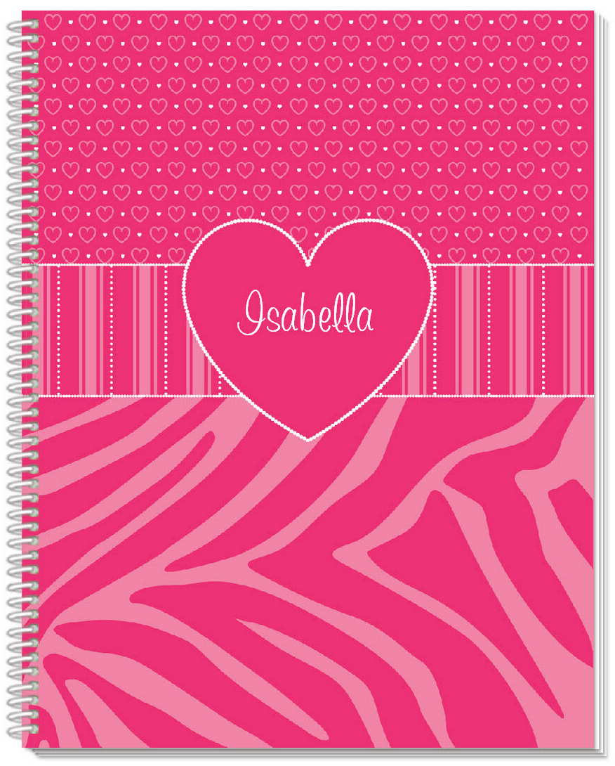 Think Pink Sketchbook - frecklebox