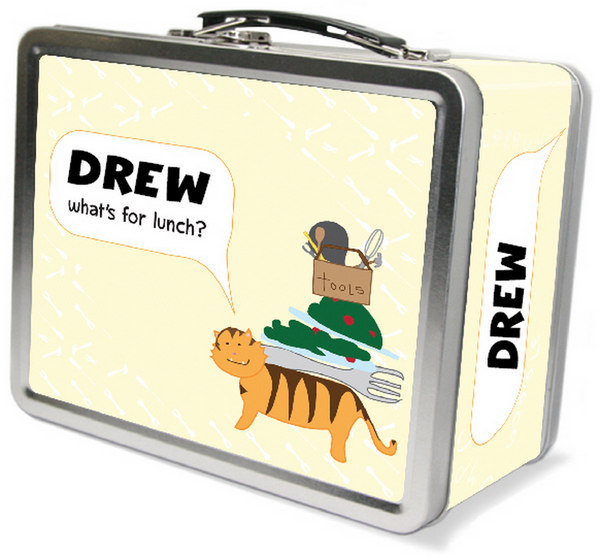 Tiger Fixes Lunch Lunchbox - frecklebox