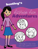 Fashion Fun Adventures Coloring Book - frecklebox - 1