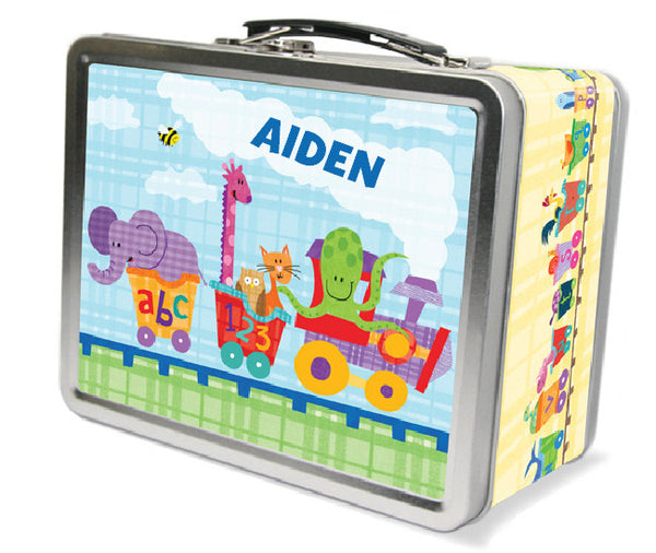 Alphabet Train Lunch Box - frecklebox