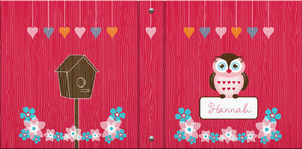 Owl Friends Binder - frecklebox