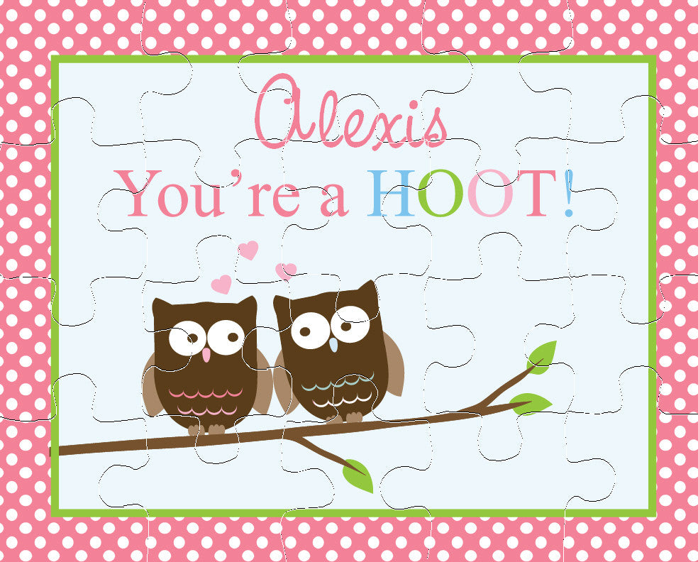 You're A Hoot Puzzle - frecklebox