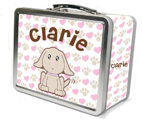 Precious Puppy Lunch Box