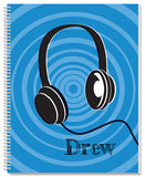 Headphones Notebook