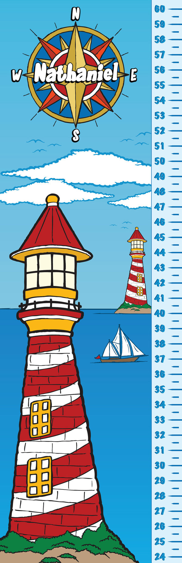 Lighthouse Growth Chart - frecklebox