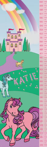 Castle and Ponies Growth Chart