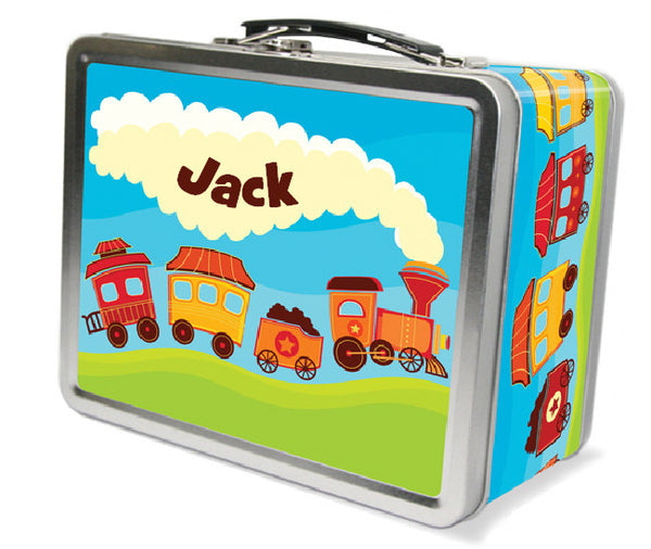 Starline Train Lunchbox - frecklebox