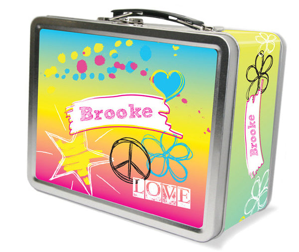 Rockin' Rainbow Lunchbox - frecklebox
