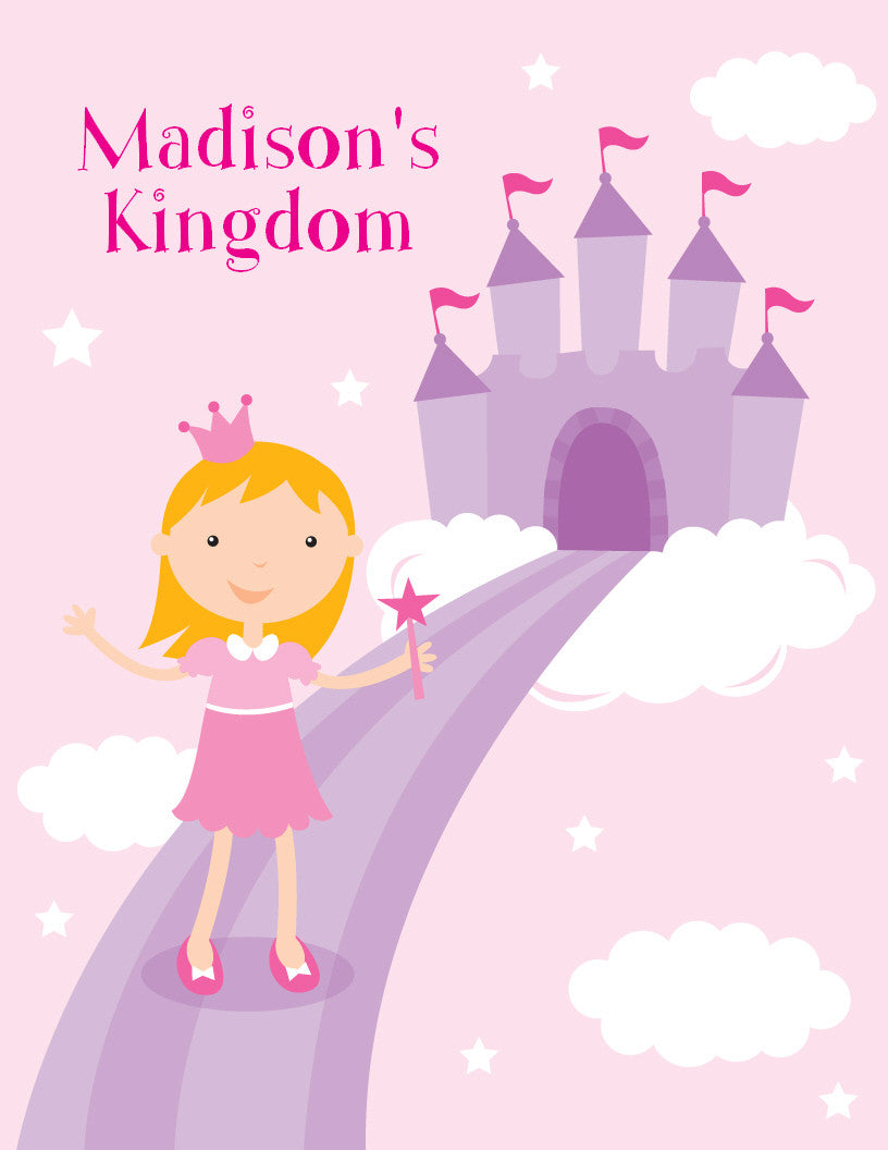 Princess Kingdom Coloring Book - frecklebox
