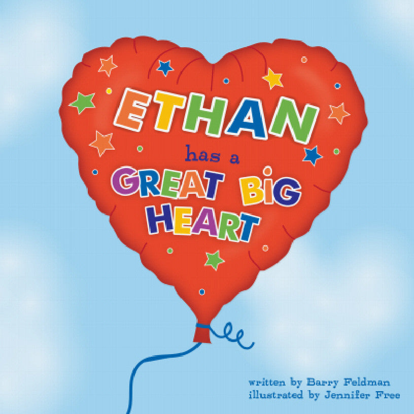 Big Heart Personalized Storybook - Hard Cover - frecklebox