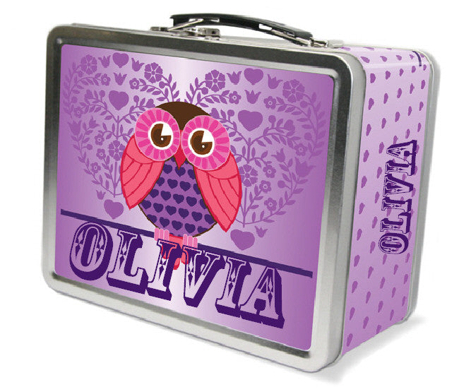 Hoot Hoot Lunchbox - frecklebox