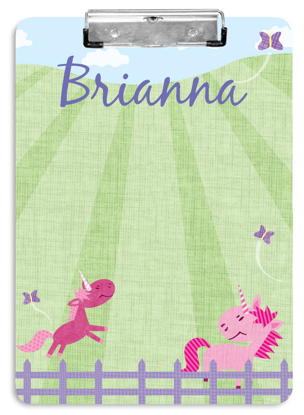 Pink Pastures Clipboard - frecklebox