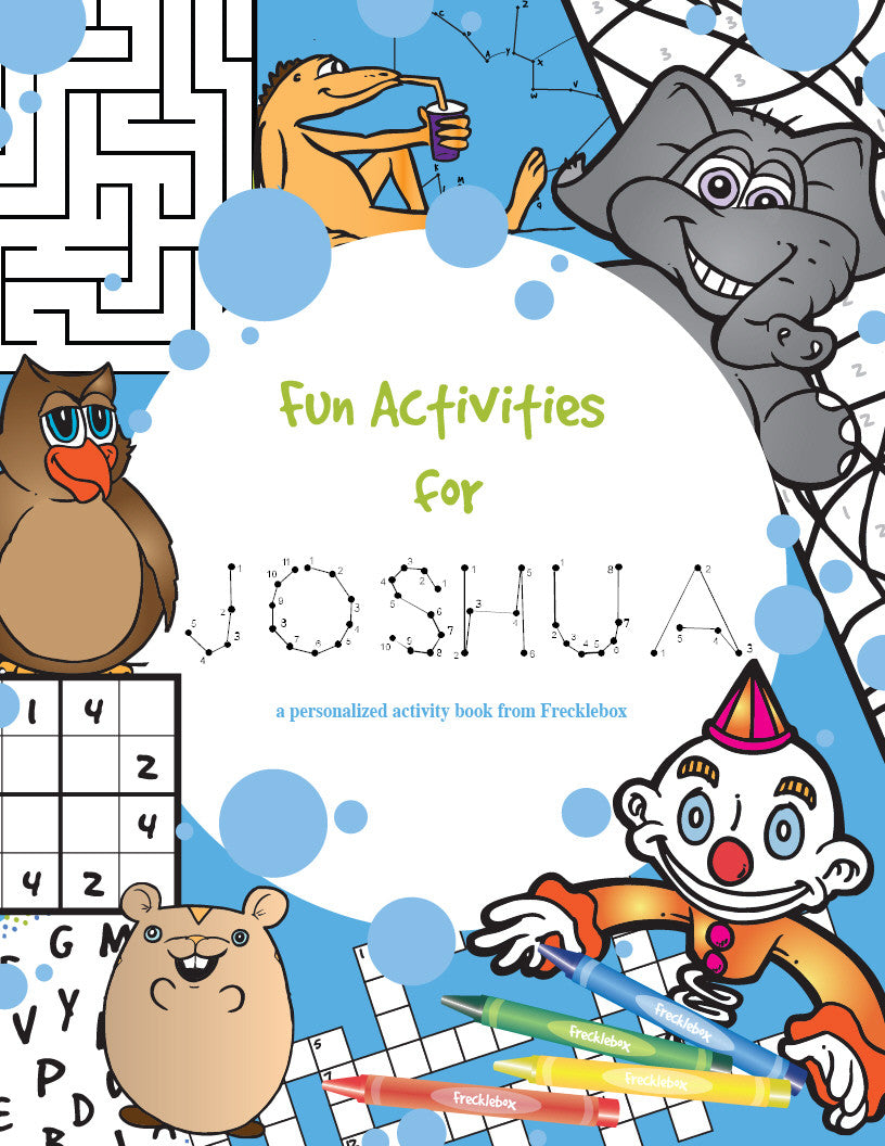 Personalized Activity Personalized Coloring Book | Frecklebox