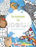 Activity Personalized Coloring Book - frecklebox - 1