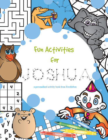 Activity Personalized Coloring Book