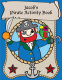 Pirate Coloring Book - frecklebox - 1