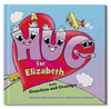 The Hug Book Personalized Storybook - frecklebox