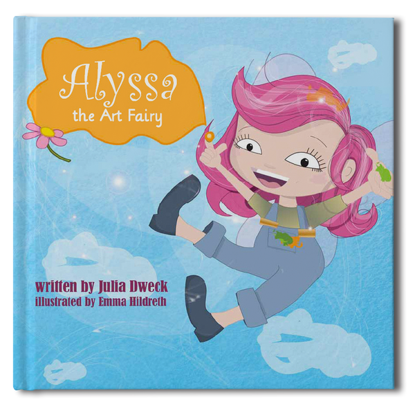 The Art Fairy Personalized Storybook - frecklebox