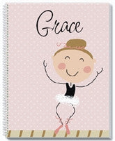 Ballerina Notebook - frecklebox