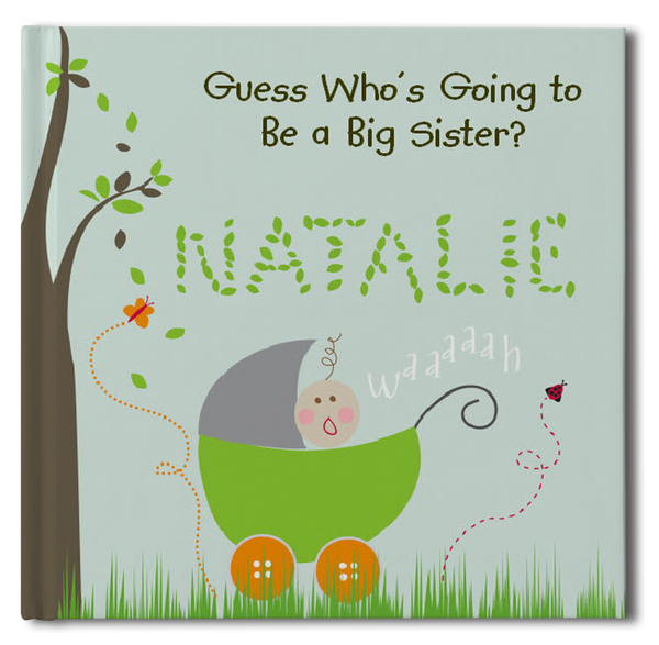 Big Sister Personalized Storybook - Hard Cover - frecklebox