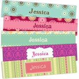 Blossoms Bookmarks - frecklebox - 1