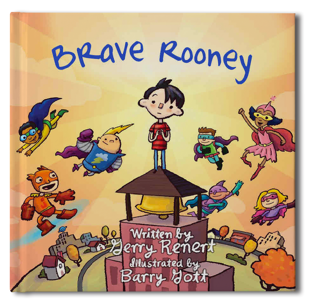 Brave Rooney Personalized Storybook - Soft Cover - frecklebox