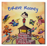 Brave Rooney Book - frecklebox - 1