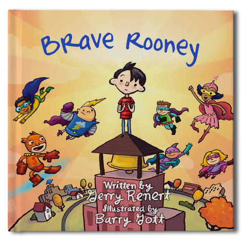Brave Rooney Book