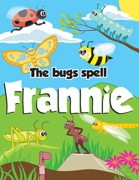 Spelling Bugs Coloring Book - frecklebox