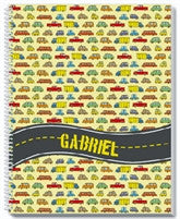 Cars Notebook - frecklebox