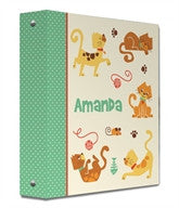 Cat Park Binder - frecklebox