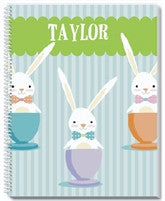 Cheeky Bunny Notebook - frecklebox