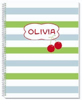 Cherries Notebook - frecklebox
