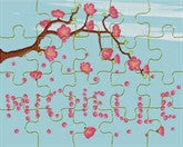 Cherry Blossom Puzzle - frecklebox