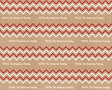 Chevron Wrapping Paper 12ft - frecklebox