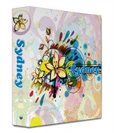 Color Splash Binder - frecklebox