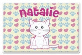 Cute Kitty Placemat - frecklebox