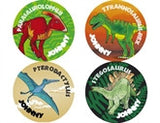 Dinosaur 1 Personalized Stickers - frecklebox